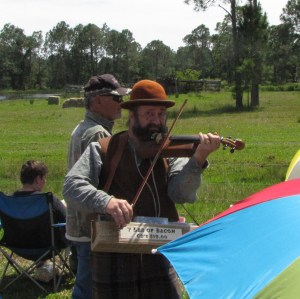 This fiddle player is from an event we attended in Florida.