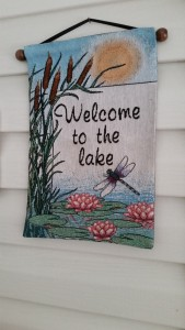 Welcome to the lake!