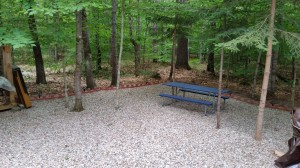 Enjoy outdoor dining, BBQs and evenings around the campfire on this almost quarter acre lot.