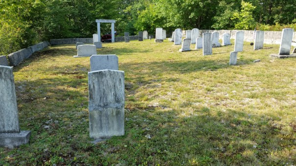 New Hampshire Cemetery near East Wakefield, NH