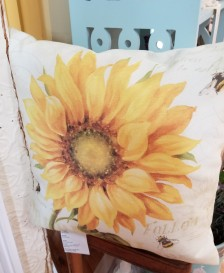 Cheerful pillow